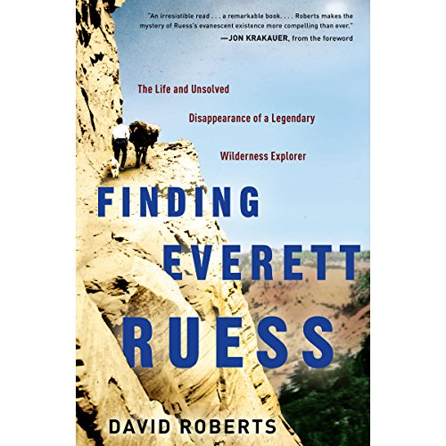 Finding Everett Ruess audiobook cover art