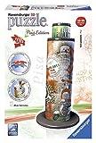 Ravensburger 125814Flag Edition Pisa Torre–3D Puzzle de diseño admitidas, 216Piezas