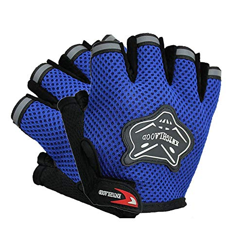 #N/V Cycling Gloves Motorcycle Half Finger Gloves Fox Head Breathable Racing Gloves Anti-Vibration Great Accessories