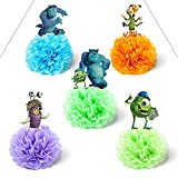 5 pcs Monsters Inc Table Centerpieces Party Supplies Tables Decorations Centerpiece Birthday Table Decorations