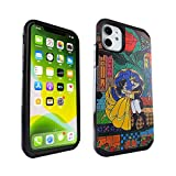 iPhone 11 Case Beauty and The Beast Dual Layer Hybrid Shockproof Slim Fit Armor Case Defender Cover for iPhone 11 6.1 inch (Beauty and The Beast)