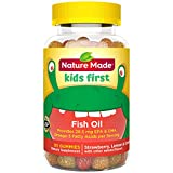 Best Fish Oil For Kids - Nature Made Kids First Fish Oil Gummies, 80 Review