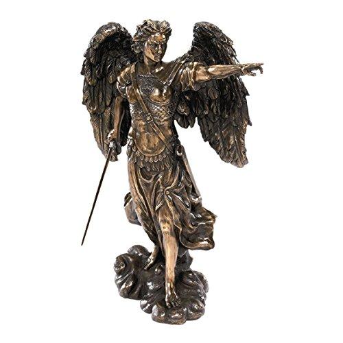 Design Toscano 13.5 in. Uriel: The Archangel Sculpture