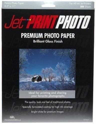 Jet Print Max 67% OFF Premium Heavy Weight Photo Gloss High Indefinitely Paper