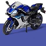 LYJB 1:12 para Modelo De Motocicleta Die, Aleación De Aleación De Juguetes Moto Motocicleta Modelos De Automóviles Modelos De Automóviles Juguetes para Niños Coleccionables Modelo de Motocicleta