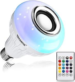 اسپیکر لامپ بلوتوثی محصول Texsens با لامپ های قابل شارژ