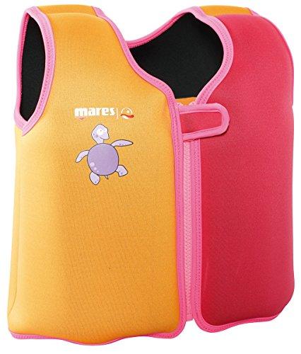 Mares Kinder Schwimmweste Schwimmhilfe Floating Jacket Kids (pink, M - 7-8 Jahre (ca. 25-30kg))