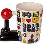 MC Trend Game Over - Taza de café con mango de joystick