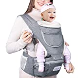 Baby Carrier with Hip Seat Prevent Bow Leg Ergonomic for Front and Back