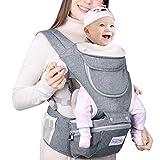 Babytrage Ergonomisch 6 in 1 Baby Trage mit Hüftsitz für Baby von 3.5 bis 20kg Weiche Atmungsaktive Kindertrage MUBYTREE