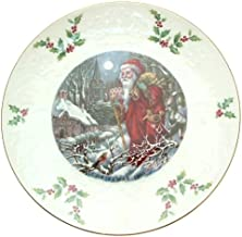 Royal Doulton Christmas 1980 plate Fourth of a Series Now Thro the Land CP1891