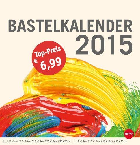 Bastelkalender groß champagner 2015