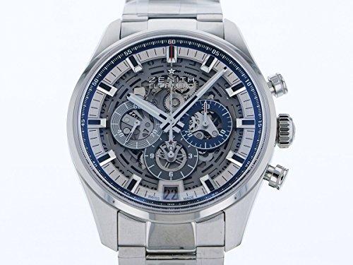 ゼニス クロノマスターフルオープン 03.2081.400/78.M2040 スケルトン文字盤 メンズ 腕時計 新品 [並行輸入品]