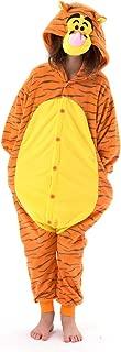 Beauty Shine Unisex Child Tigger Costume Halloween Cosplay Pajamas