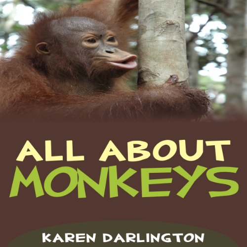 All About Monkeys audiobook cover art