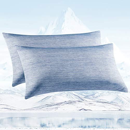 Avoalre Fundas Almohada Frescas con Fibra de Enfriamiento Japonesa ARC-Chill,