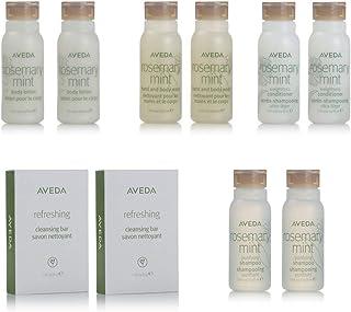 Aveda Travel Set- 2 Shampoo 2 Conditioner 2 Lotion 2 Hand & Body Wash & 2 Soap