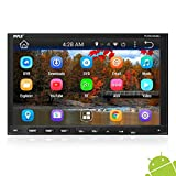 Pyle Double DIN Android - Touchscreen in-Dash DVD/CD Player with GPS Navigation,...