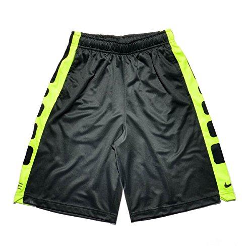Nike Jungen Elite Stripe Shorts – Gym Rot/Schwarz, XS – XL (18-20 große Kinder)*