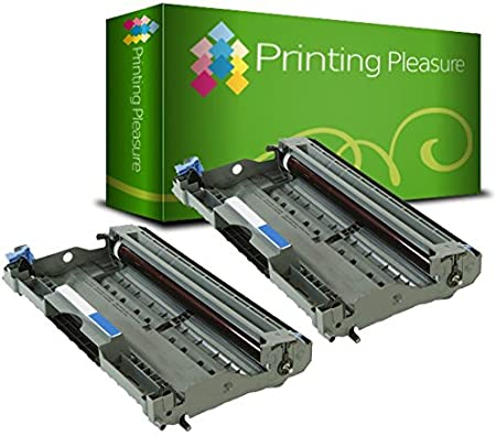 Printing Pleasure DR2000 Black Drum Unit compatible with Brother ...