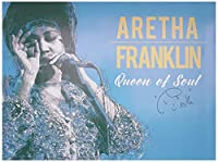 777 Tri-Seven Entertainment Aretha Franklin ポスター Queen of Soul ミュージックアートプリント
