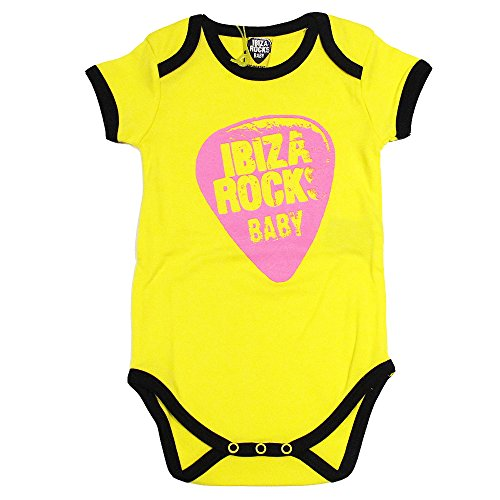 Ibiza Rocks: Pelele Plectro Neón - Amarillo, 12-18 meses