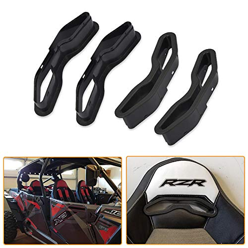 WeiSen 2 Pack Harness Pass-Through Seat Bezel Insert Compatible with Polaris RZR XP 1000 900 S/XC General