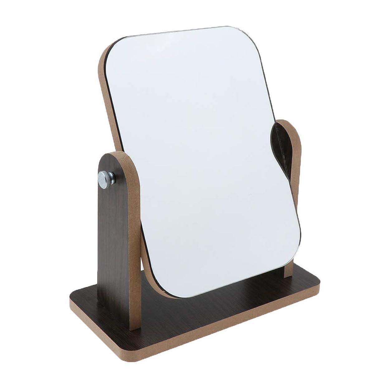 一流公スチュワーデスDYNWAVE 全3サイズ 化粧鏡 折りたたみ式ミラー 360度回転 取り外し可能 組み立て 卓上鏡 - S