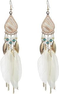 Best owl feather earrings Reviews