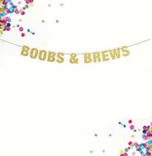 Boobs and Brews Banner, Bachelorette Party, Cheers and Beers Banner, Bachelor Party, Party Banner, We've Got Beers, Boobies