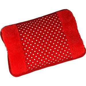 MovilCom® Bolsa de Agua Caliente Eléctrica | Caliente en sólo 15 minutos | Calientamanos | Dolor muscular, espalda, menstrual (Mod.61)