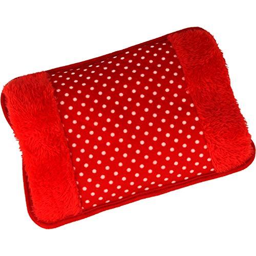 MovilCom® Bolsa de Agua Caliente Electrica | Caliente en solo 15 minutos | Calientamanos | Dolor muscular, espalda, menstrual (Mod.61)