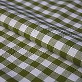 Hans-Textil-Shop Stoff Meterware Karo 1x1 cm Baumwolle