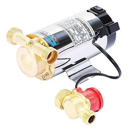 Mophorn Membran Hohe Wasserdruck anhaben Pumpe 12 V Hauswasserwerk 90W Water Pump Booster Druckkessel Zerhackerpumpe