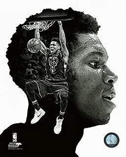 Giannis Antetokounmpo Milwaukee Bucks NBA PROFile Photo (Size: 8 x 10)