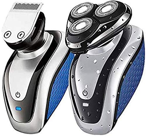 Men's Electric Shaver - Maquillador de Afeitar rotativo Recargable USB para Hombres,...
