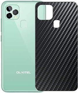 二枚 Sukix 背面保護フィルム 、 OUKITEL C22 向けの ブラック カーボン調 TPU 保護フィルム 背面 フィルム スキンシール 背面保護 背面フィルム(非 ガラスフィルム 強化ガラス ガラス )