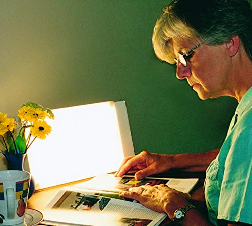 Travelite 10,000 Lux Bright Light Therapy Portable Light Box, Beige