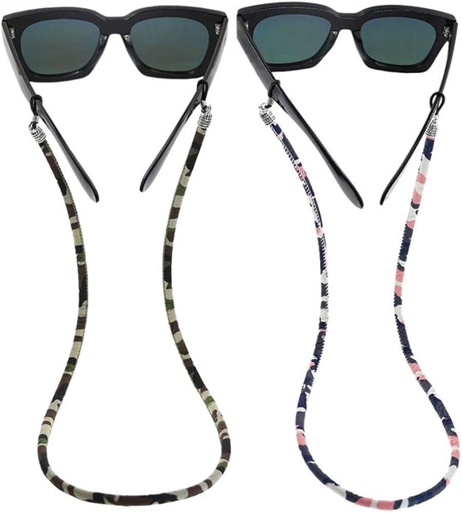 ethnische Brillenkette. 1 x praktische Brillenband-Hals-Halterung aus Baumwolle