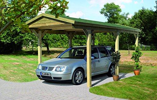 Unbekannt Karibu Classic Carport 1 Satteldach Einzel kdi