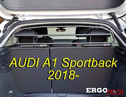 ERGOTECH Trennnetz Trenngitter Hundegitter RDA65HBG-2HXXS für Audi A1 Sportback ab BJ 2018.