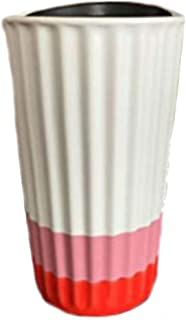 Starbucks 2018 San Valentine Red & Pink Ceramic Coffee/Tea Tumbler Traveler Mug