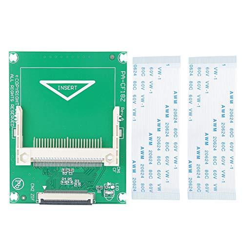 ASHATA Riser-Karte, 50-polige CF-zu-ZIF/CE-Riser-Karte für 1,8-Zoll-ZIF/CE-Festplatten-Notebooks, Unterstützung für CF-Flash-Karten mit hoher Kapazität