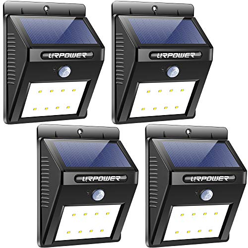 URPOWER Solar Motion Sensor Light review