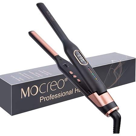 MOCREO ストレート カール ヘアアイロン スリムアイロン 11mm 130~230℃ 海外対応 自動OFF メンズ 兼用