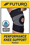 FUTURO-401503 Performance Knee Support, Breathable, Medium - Black