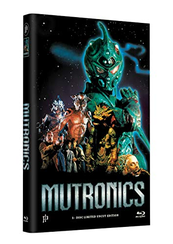 MUTRONICS - Invasion der Supermutanten (The Guyver) - Grosse Hartbox Cover A [Blu-ray] Limited 33 Edition - Uncut
