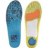 CURREX RunPro Sohle – Entdecke Deine Einlage für eine neue Dimension des Laufens. Dynamische Einlegesohle für Sport, Freizeit und Laufen, High Profile, EU 44,5-46,5