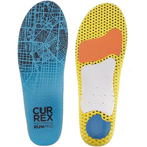 CURREX RunPro Sohle – Entdecke Deine Einlage für eine neue Dimension des Laufens, Dynamische Einlegesohle, Blau- High Profile Gr.- EU 44.5-46.5/ XL