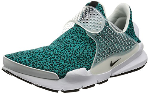 Nike Sock Dart QS Men's Shoes Turbo Green/White/Black 942198-300 (12 D(M) US)